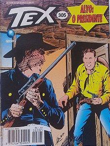 Tex #305 Ed. Globo Alvo: O Presidente
