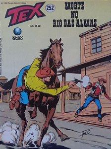 Tex #252 Ed. Globo Morte no Rio das Almas