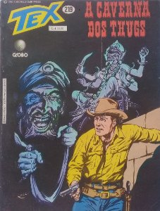 Tex #219 Ed. Globo A Caverna dos Thugs
