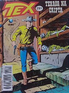 Tex #291 Ed. Globo Terror na Cripta