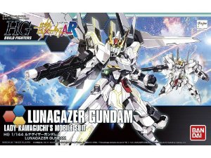 Bandai HGBF Lunagazer Gundam #051 1/144 Model Kit
