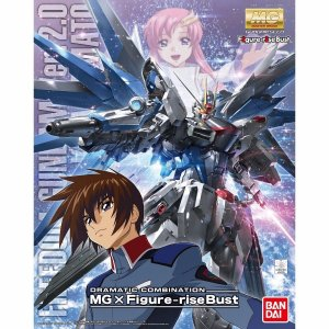 Bandai MG Gundam Freedom 2.0 Dramatic Combination MG 1/100 Model Kit