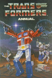 Transformers Annual Artbook G1 Marvel/Grandreams Importado Capa Dura