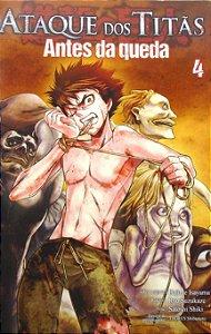 Ataque dos Titãs Antes da Queda #4 Edit Panini Comics