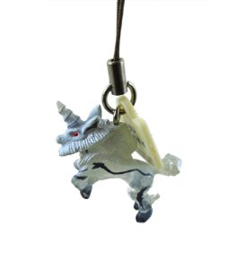 Bandai Monster Hunter Chaveiro Phone Strap Kirin