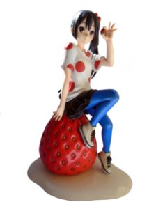 Kyoto Animation Kyoani K-On! Azusa Nakano 1/8 Ending Ver. Figure Loose