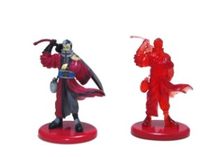 Coca Cola Square Final Fantasy X FF10 Auron Set com 2