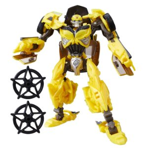 Hasbro Transformers TLK TF5 Bumblebee Deluxe Premier Edition