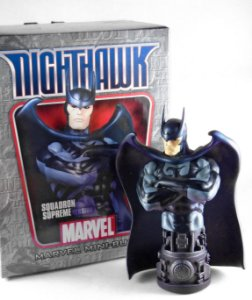 Marvel Bowen Designs Nighthawk  Squadron Supreme Mini Bust 691 de 1500