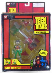 Bandai DC Teen Titans Go! Robin Vac-Cycle Raro