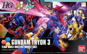 Gundam HGBF Tryon 3 #038 1/144 Model Kit
