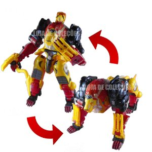 Transformers Exclusivo Botcon 2009 Razorclaw Voyager Class