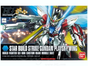 Bandai HGBF Star Build Strike Gundam Plavsky Wing #009 1/144 Model Kit