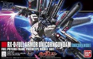 Bandai HGUC RX-0 Full Armor Unicorn Gundam [Unicorn Mode] 1/144 Model Kit