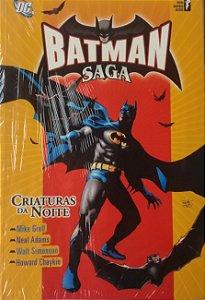 Batman Saga Encadernado Criaturas da Noite