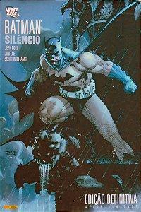 Panni Batman Silêncio Edição definitiva Capa Dura