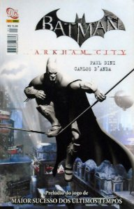 Panini Batman Arkham City Capa Cartonada