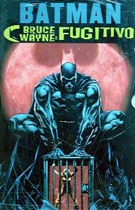 Panini Batman Bruce Wayne Fugitivo Vol.1 e 2 Capa Cartonada