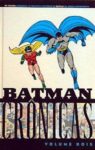 Panini Batman Crônicas Volume Dois Capa Dura