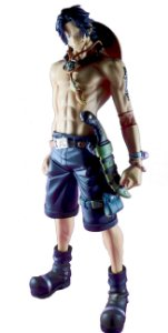 Banpresto Master Stars Piece Portgas D. Ace 26 Cm Loose