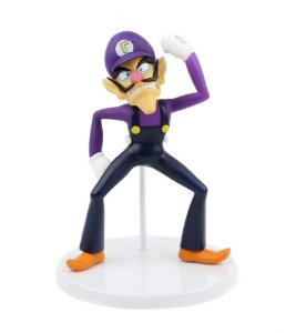 Nintendo Super Mario Bros Waluigi Standart Figure