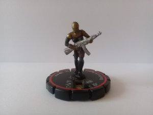 Heroclix Checkmate Agent  #009