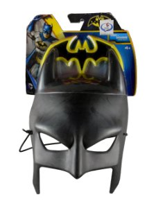 Mattel DC Máscara Batman + Batarangue para Cosplay Tamanho Adulto