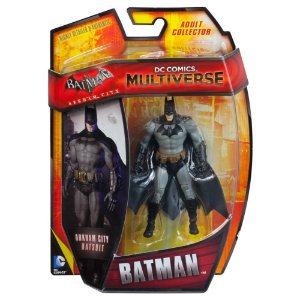 Mattel DC Multiverse Batman Arkham City Batsuit