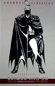 Panini Grandes Clássicos DC Batman Ano Um Edição Definitiva Capa Cartonada