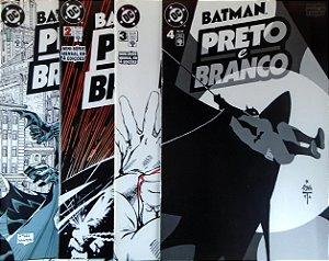 Abril Batman Preto e Branco Mini-Série em 4 Edições