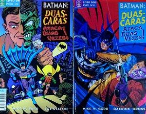 Abril Batman: Duas-Caras Ataca Duas Vezes! Mini-Série Em 2 Edições