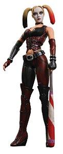 Mattel DC Batman Arkham City Series 1 Harley Quinn (Arlequina) Figure