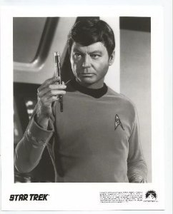 Lobby Card Star Trek - Dr. Mccoy