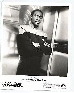 Lobby Card Star Trek Voyager - Tuvok
