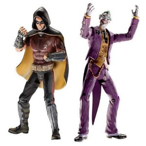 DC Universe Legacy Edition Batman Arkham City Robin The Joker