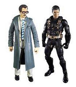 DC Universe Batman Begins Legacy Edition Prototype Suit Batman Lt. Jim Gordon