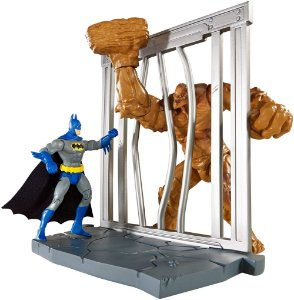 DC Multiverse Batman Arkham City Batman Vs Clayface