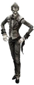 Square-Enix Playarts kai DC Batman Arkham Asylum The Joker Black and White Vers.