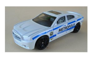 Hot Wheels DC Superman Dodge Charger RT Police Metrópolis 1/64