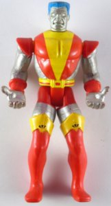 Toy Biz  Marvel The Uncanny X-Men Power Lift Colossus Loose