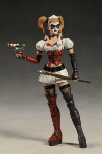 DC Direct Batman Arkham Asylum Harley Quinn (Arlequina) Series 1