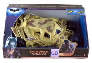 """Mattel DC Batman TDKR Batmobile Tumbler (Batmóvel) Para figuras de 4"""""""