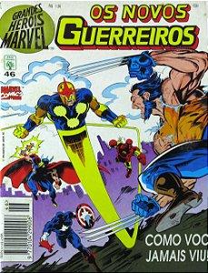 Abril Grandes Heróis Marvel #46 Os Novos Guerreiros