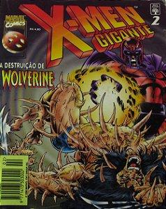 Abril X-Men Gigante #2 A Destruição de Wolverine