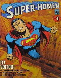Abril Super-Homem #1 Ele Voltou!