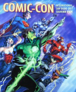 Comic-Con International Sandiego 2011 Souvenir Book Importado