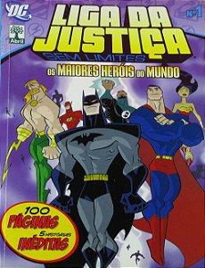 Abril Liga da Justiça Sem Limites #01