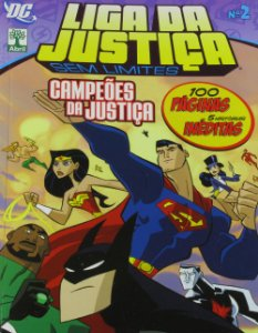 Abril Liga da Justiça Sem Limites #02