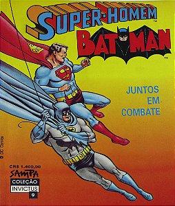 Nova Sampa Coleção Invictus #9 Batman Super-Homem Juntos em Combate
