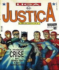 Nova Sampa Coleção Invictus #15 Liga da Justiça Original